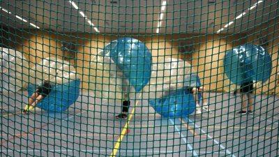 Bubbel Voetbal indoor binnen