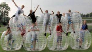 Bubblevoetbal teams